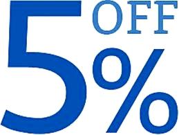 Five Percent Off